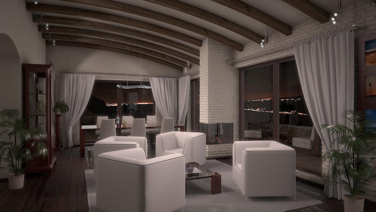 Bilder aus dem Beitrag: 3D Architekturvisualisierung ''Torri del Benaco'' (Interiors)