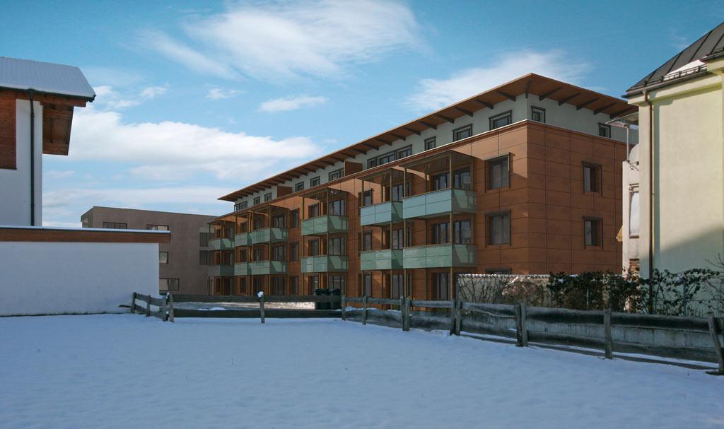 Bilder aus dem Beitrag: 3D architectural visualization ''Teleleasing Wörgl''