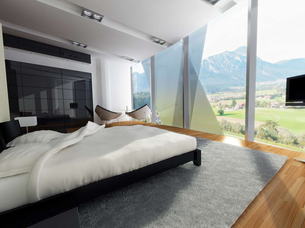 Bilder aus dem Beitrag: 3D Architekturvisualisierung ''Tyrol Tower Wörgl'' (Interiors)