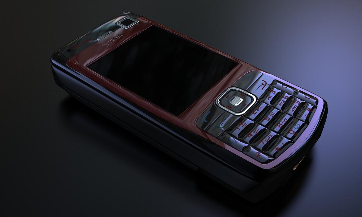 Bilder aus dem Beitrag: 3D Produktvisualisierung ''Nokia N70 Diablo''