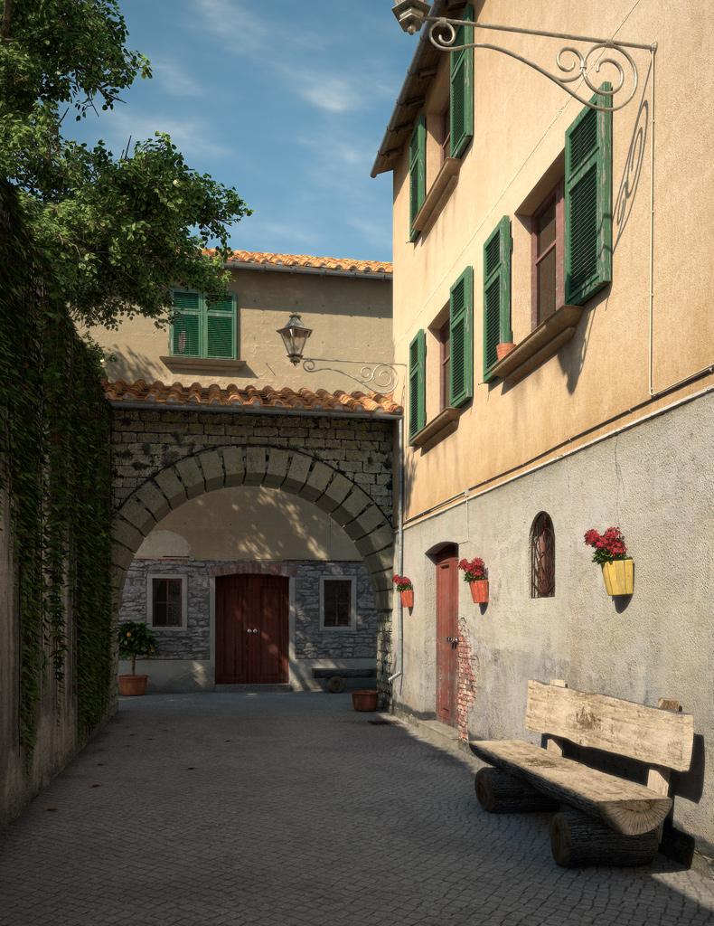 Bilder aus dem Beitrag: 3D-Arts ''Toskana''